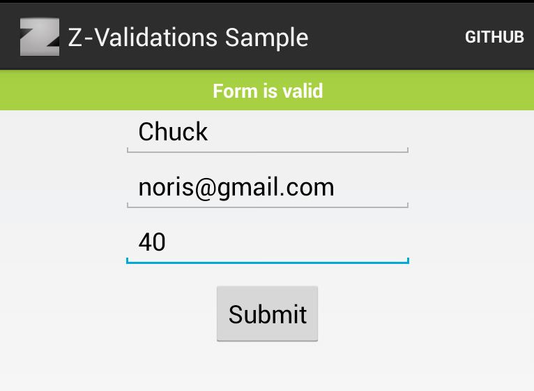 Android form validation - the right way • Vitaliy Zasadnyy